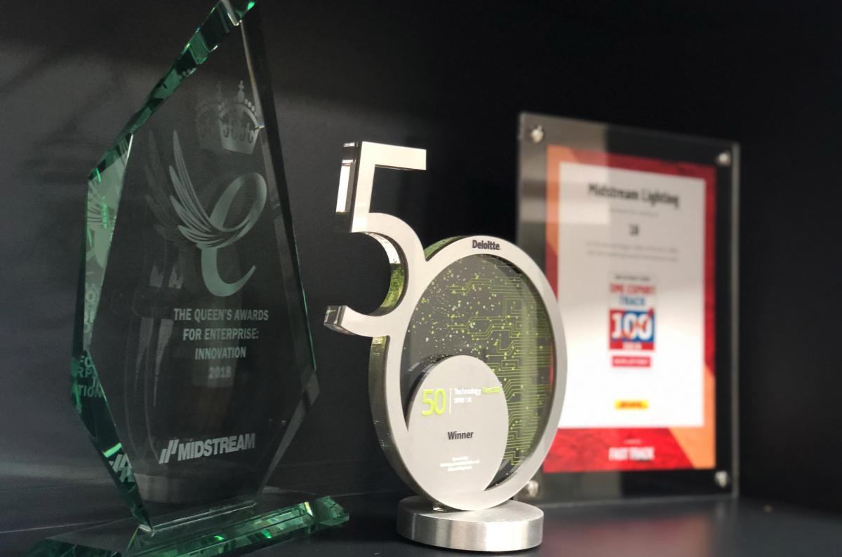 Pioneering lighting experts Midstream Lighting scoop even more major awards