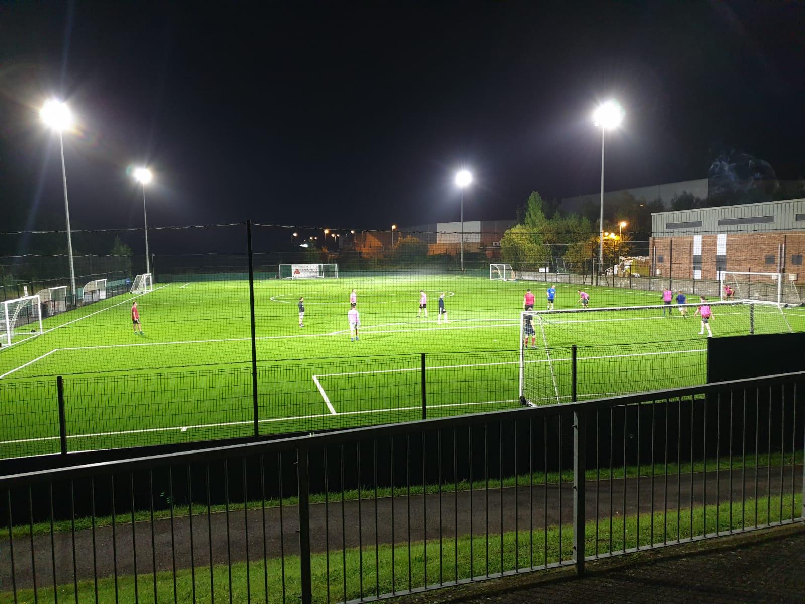 Hanwood Sports Centre, Sports Lighting Case Study