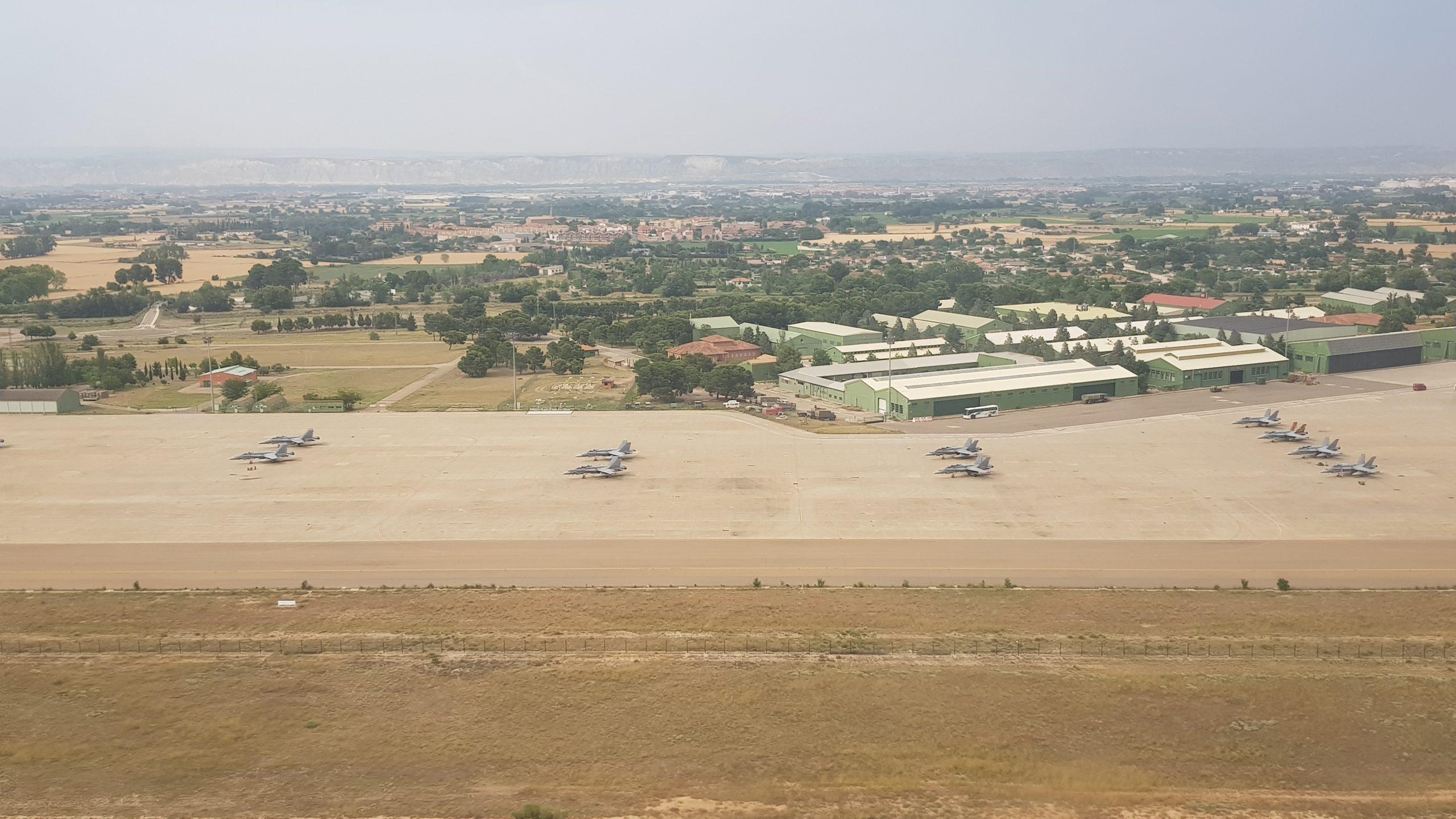 Spanish Military Airbase