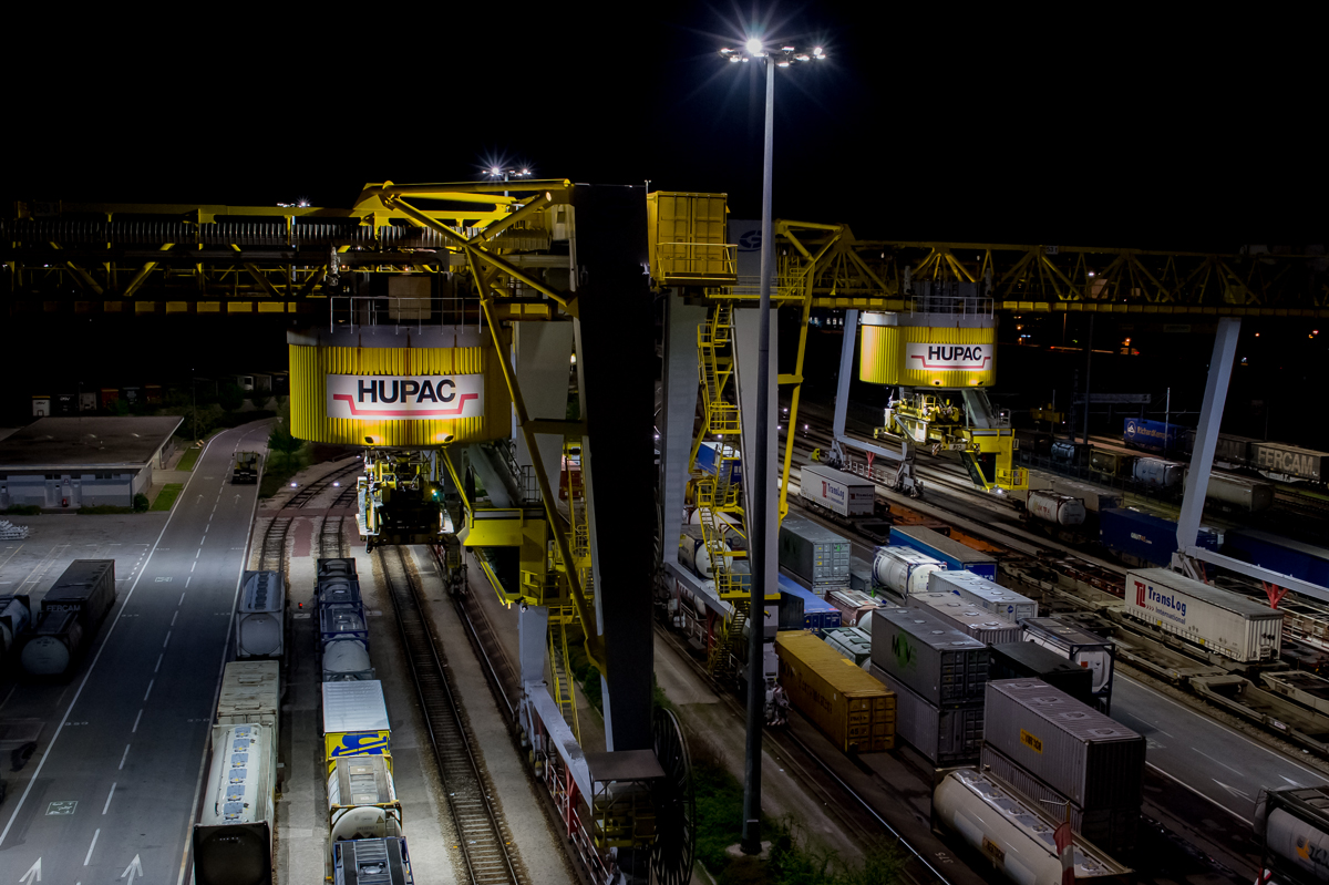 Crane Lighting Hupac - Midstream Lighting