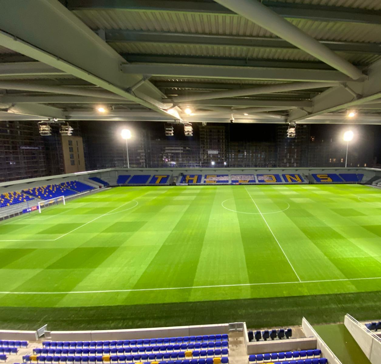 AFC Wimbledon - Football Lighting