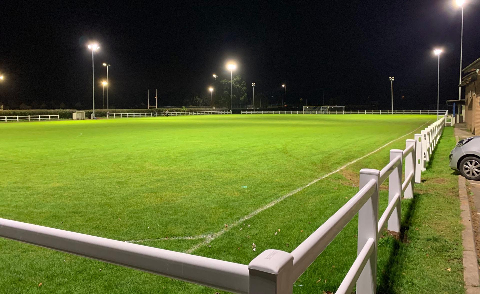 Winscombe AFC - Football Lighting