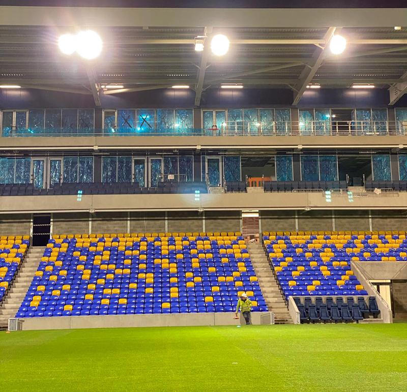 AFC Wimbledon Football Floodlighting