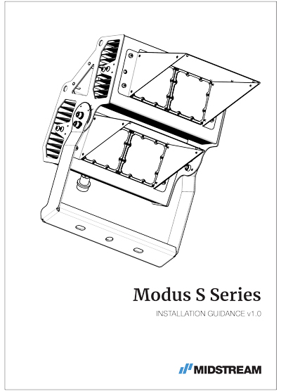 Modus S Installation Guide Midstream Lighting
