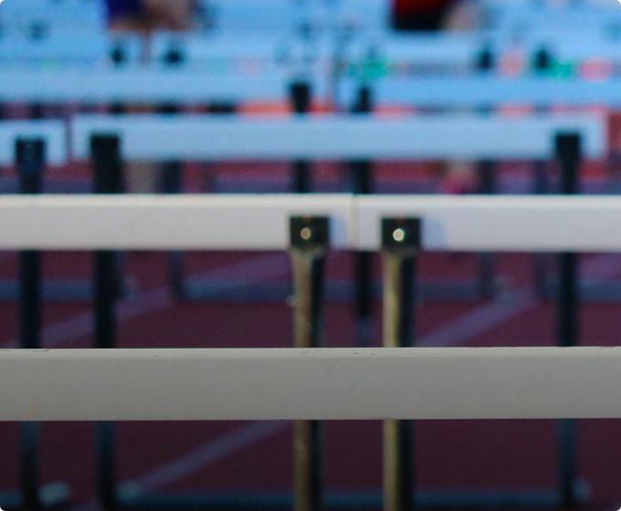 Hurdles - Athletics Lighting - Midstream