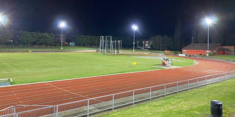 Woodside Stadium Sports Lighting Case Study