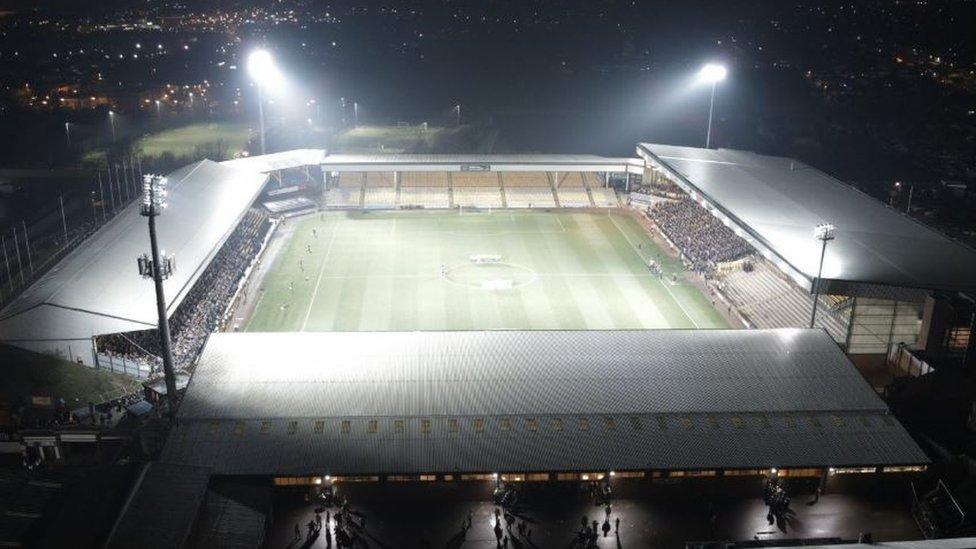 Port Vale FC, Sports Lighting Case Study from Midstream Lighting